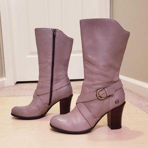 Born Nuri Boots, Taupe Size 8